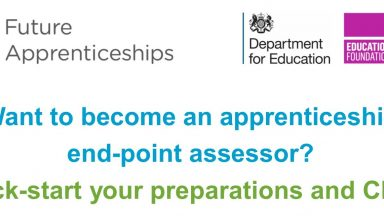 Becoming an Apprenticeship End Point Assessor