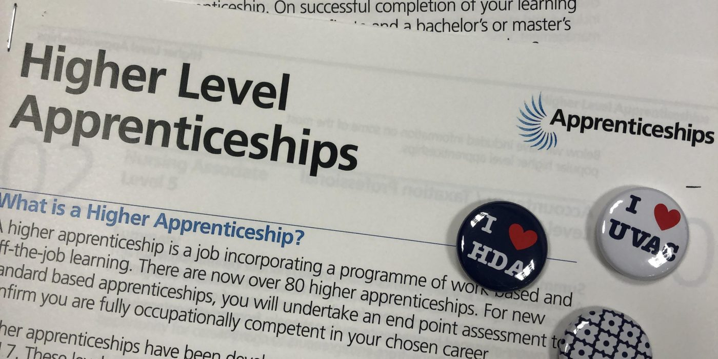 We need your Higher and Degree Apprenticeship Collateral – REQUEST