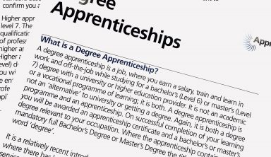 Labour Party's Position on Funding Degree Apprenticeship